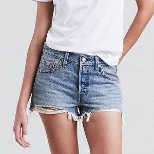 Levi's 501 high rise jean shorts / NWT / size 30